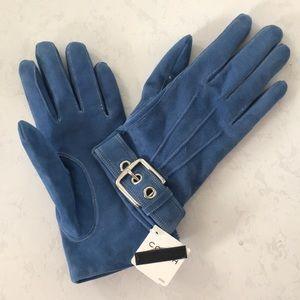 Coach Suede Gloves